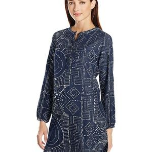NEW Burton Womens Elle Tunic Top Bandota Dark Blue